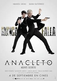 Película: Anacleto, agente secreto