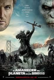 Película: El amanecer del planeta de los simios