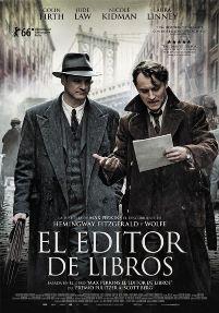 Película: El editor de libros