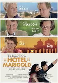 Película: El exótico Hotel Marigold