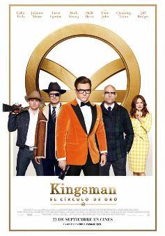 Película: Kingsman. El Círculo de Oro