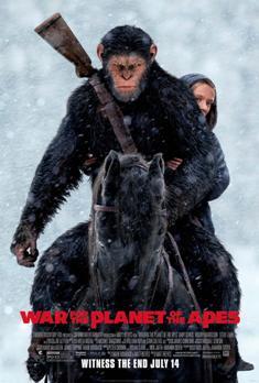 Película: La guerra del planeta de los simios