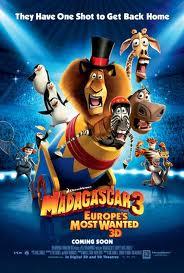 Película: Madagascar 3. De marcha por Europa