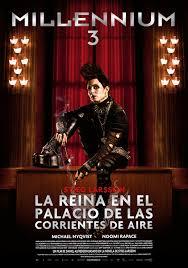 Película: Millennium 3: La reina en el palacio de las corrientes de aire
