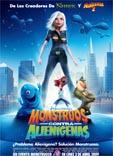 Película: Monstruos contra Alienígenas