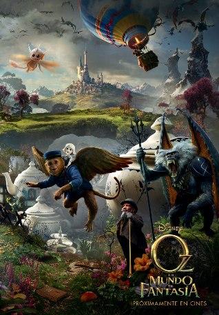 Película: Oz, un mundo de fantasía