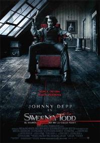Película: Sweeney Todd, el barbero diabólico de la calle Fleet