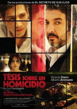 Película: Tesis sobre un homicidio