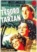 Película: El tesoro de Tarzán