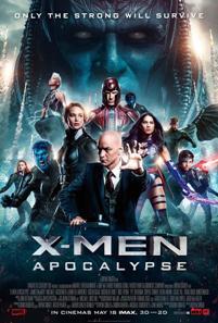 Película: X-Men: Apocalipsis
